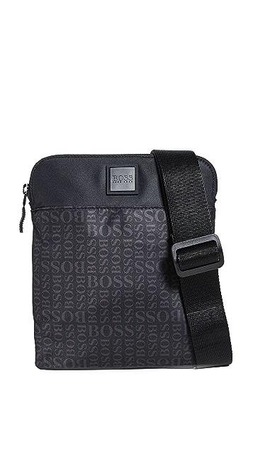 BOSS Hugo Boss Lighter Nylon Small Crossbody Bag