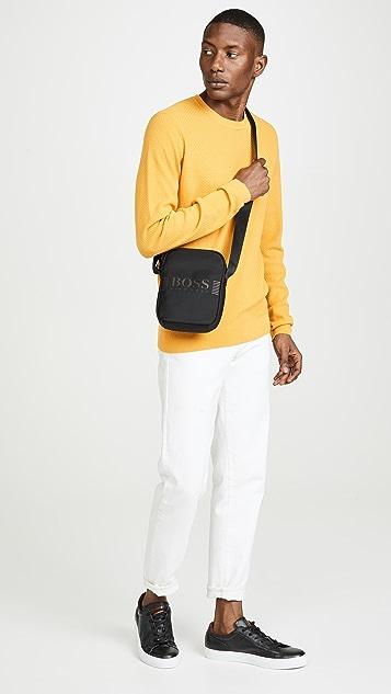 BOSS Hugo Boss Pixel Nylon Small Crossbody Bag
