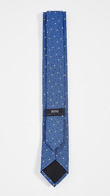 BOSS Hugo Boss Micro Floral Print Tie