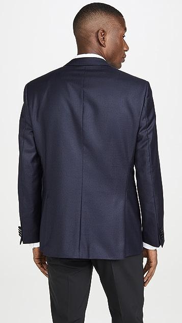 BOSS Hugo Boss Dinner Jacket With Satin Peak Lapel