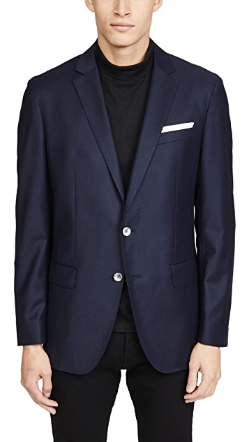 BOSS Hugo Boss Flannel Patch Pocket Sportcoat