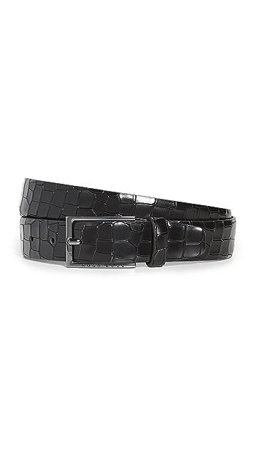 BOSS Hugo Boss Ceddy Crocodile Belt