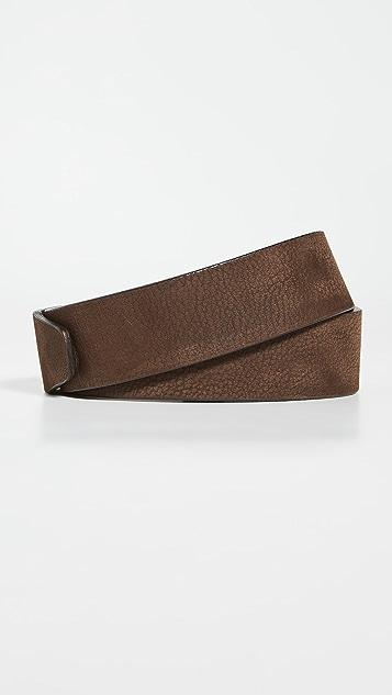 BOSS Hugo Boss Serge Nubuck Leather Belt