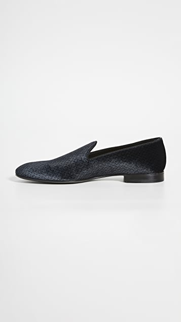 BOSS Hugo Boss Glam Velvet Slip On Loafers