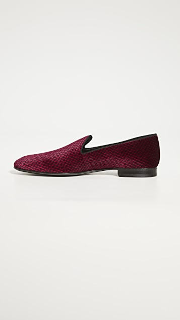 BOSS Hugo Boss Glam Velvet Slip On Loafers
