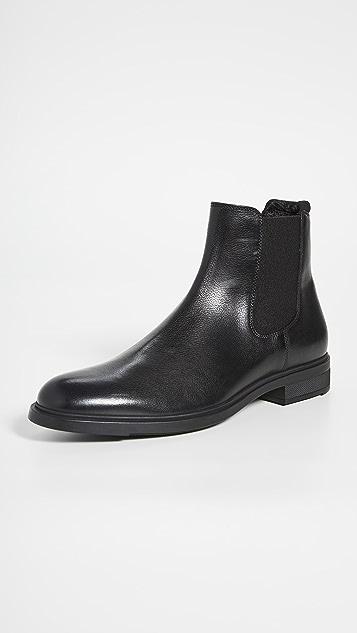 BOSS Hugo Boss First Class Leather Chelsea Boots
