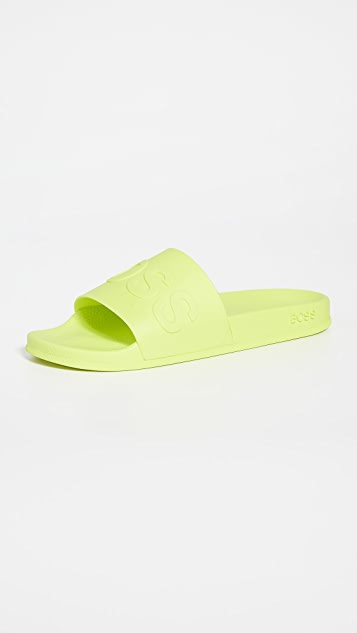 BOSS Hugo Boss Bay Logo Slides