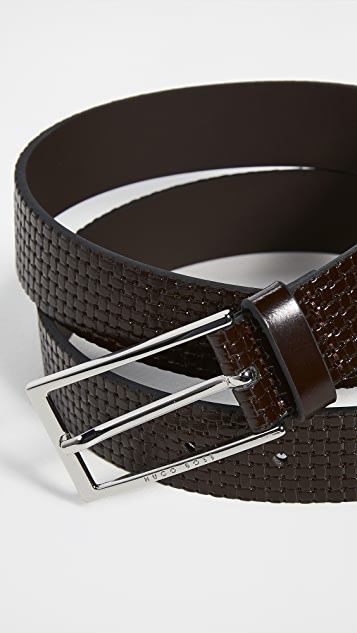 BOSS Hugo Boss Carmello Woven Leather Belt