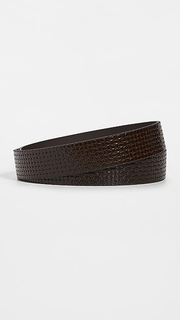 BOSS Hugo Boss Carmello Woven Leather Belt