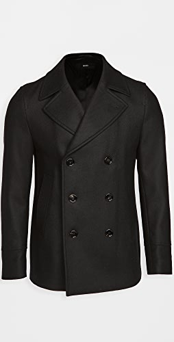 BOSS Hugo Boss - Double Breasted Pea Coat