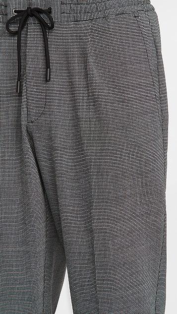 BOSS Hugo Boss Kirio Houndstooth Pleated Pants