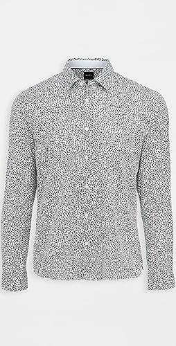 BOSS Hugo Boss - Awatti Cotton Button Down Shirt