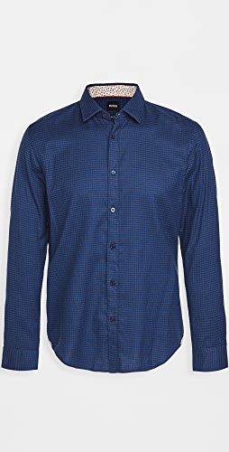 BOSS Hugo Boss - Awatti Cotton Button Down Shirt
