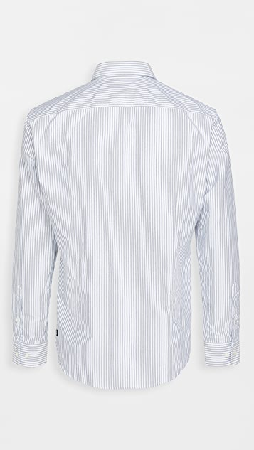 BOSS Hugo Boss Giamma Recycled Cotton Oxford Shirt