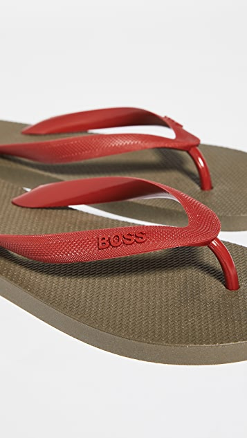 BOSS Hugo Boss Pacific Thong Flip Flops