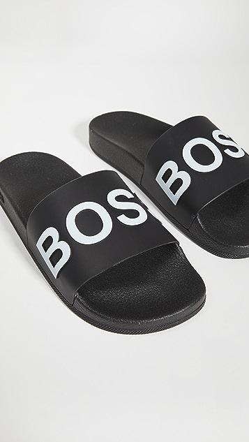 BOSS Hugo Boss Bay Pool Slides