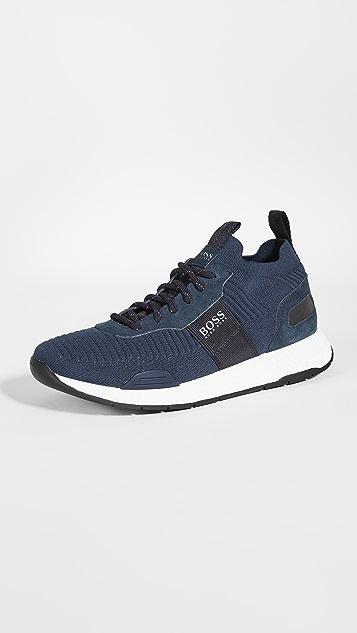 BOSS Hugo Boss Titanium Running Sneakers