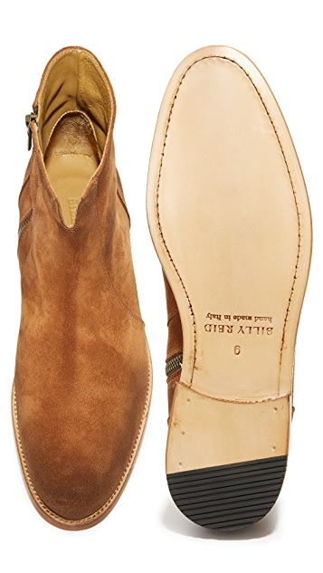 Billy Reid Castell Suede Boots