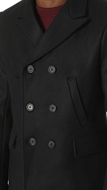Billy Reid Bond Pea Coat