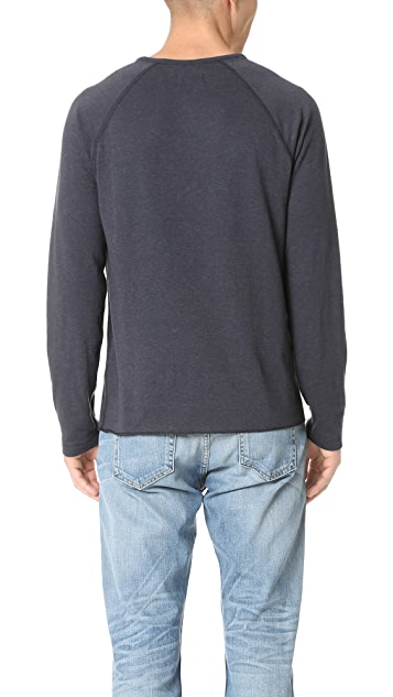 Billy Reid Indian Crew Pullover