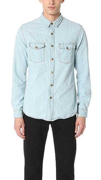 Billy Reid Denim Selvedge Shirt