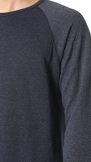 Billy Reid Arnold Crew Neck Sweatshirt