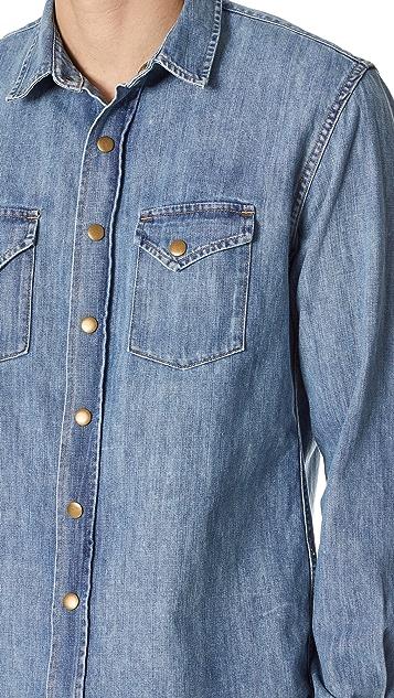 Billy Reid Denim Shirt