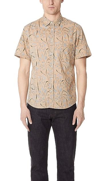 Billy Reid Short Sleeve Kirby Shirt
