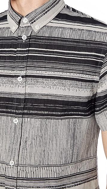 Billy Reid Short Sleeve Murphy Shirt