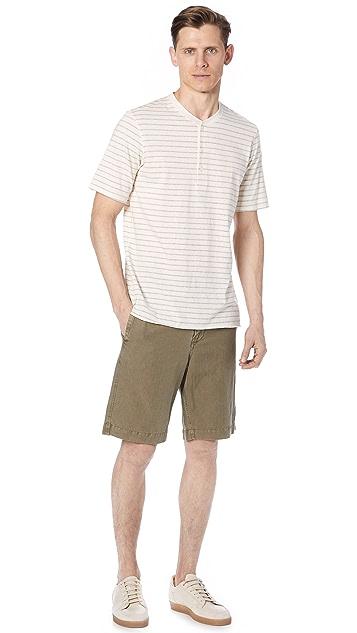 Billy Reid Short Sleeve Henley
