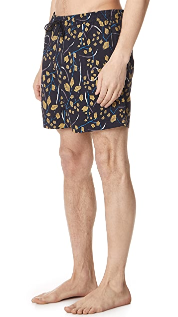 Billy Reid Sea Oat Swim Trunks