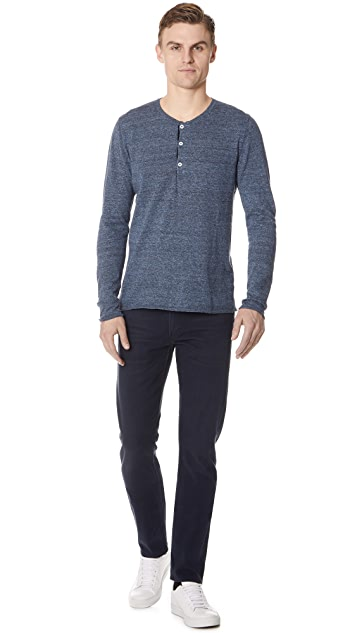 Billy Reid Heirloom Henley Shirt