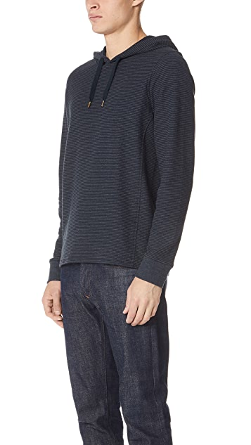 Billy Reid Striped Pullover