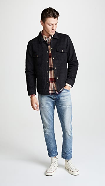 Billy Reid Michael Shirt Jacket