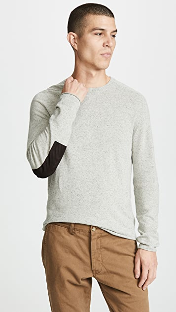 Billy Reid Heirloom Saddle Crew Sweater