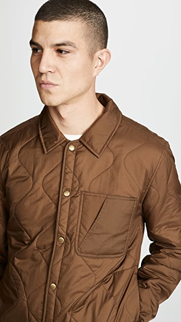 Billy Reid Onion Quilted Shirt Jacket