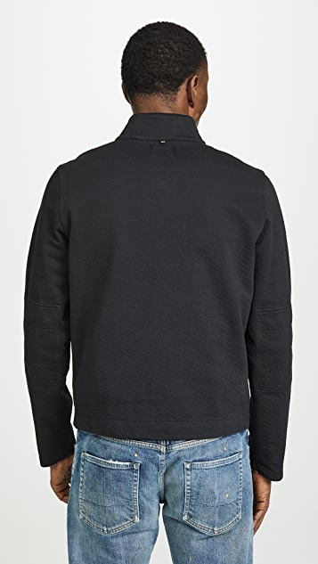 Billy Reid Garment Dyed Terry Cardigan
