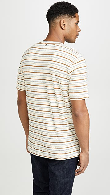 Billy Reid Striped T-Shirt