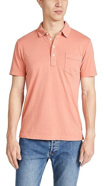 Billy Reid Short Sleeve Pensacola Polo Shirt
