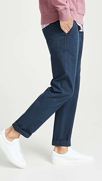 Billy Reid Pima Cotton Chino Pants