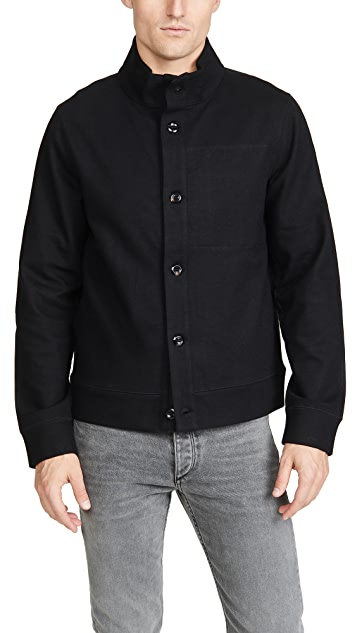 Billy Reid Paneled Wool Jacket