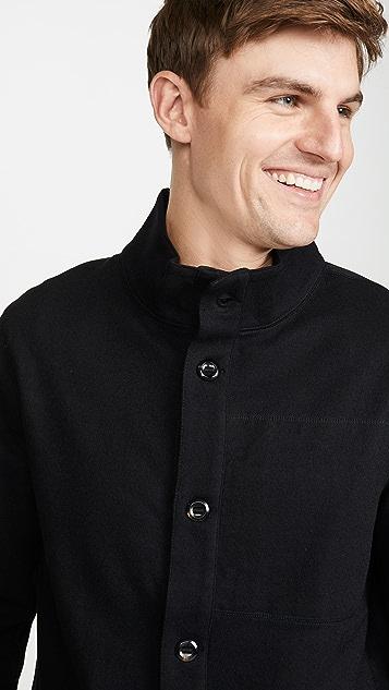 Billy Reid Paneled Wool Jacket