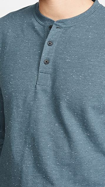 Billy Reid Long Sleeve Donegal Terry Henley