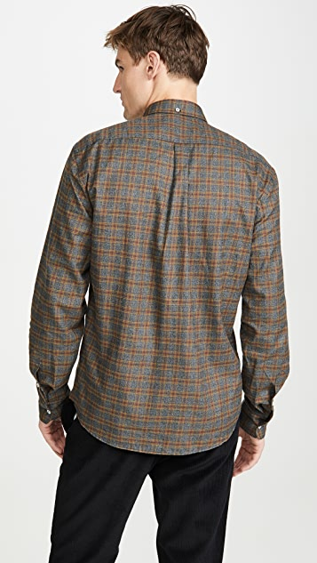 Billy Reid Long Sleeve Tuscumbia Button Down Shirt