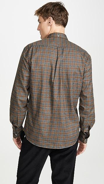 Billy Reid Long Sleeve Tuscumbia Button Down Shirt