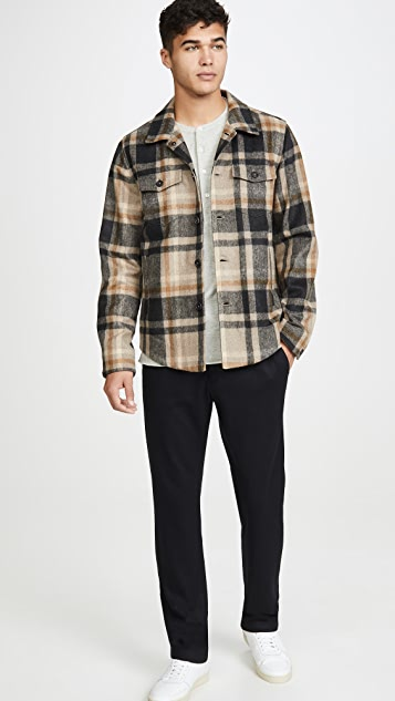 Billy Reid Plaid Mo Shirt Jacket