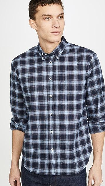Billy Reid Tuscumbia Plaid Button Down Shirt