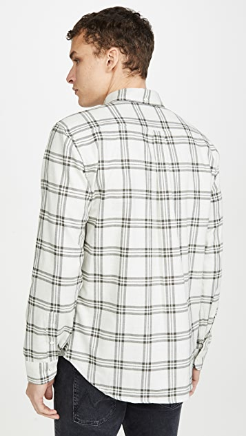 Billy Reid Plaid Button Down Shirt