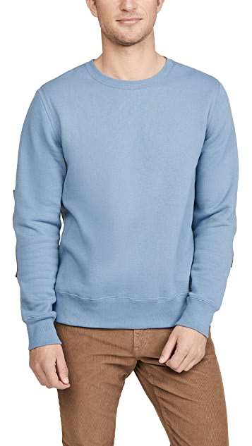 Billy Reid Dover Crew Neck Sweatshirt