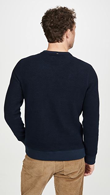 Billy Reid Fleece Crew Neck Sweatshirt